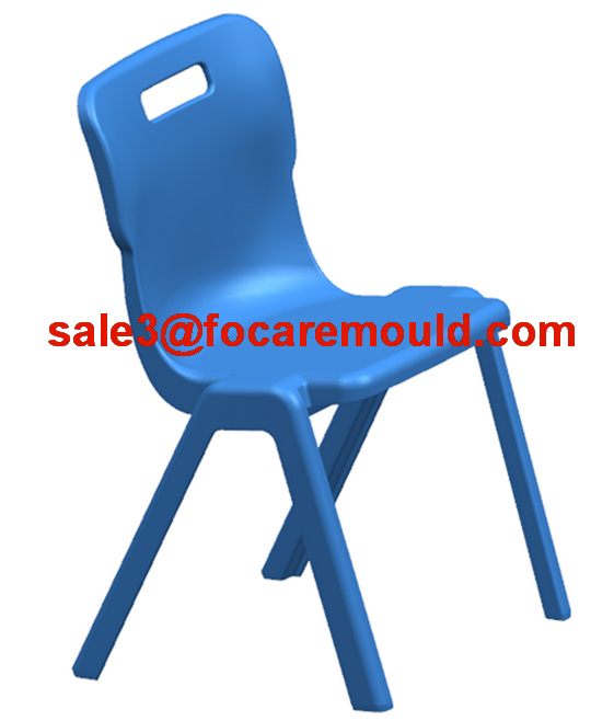Plastic chair injection mold