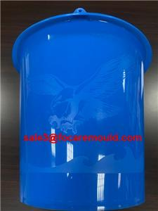Plastic bucket injection mold