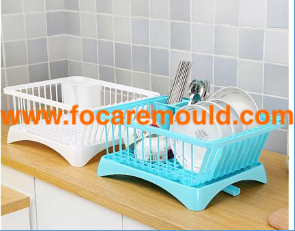 Plastic dish rack injection mold