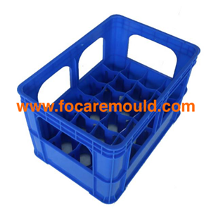 Beer bottle crate plastic injection mold