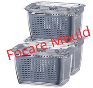 Plastic organizer set injection mold