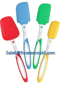 Two-color spatula plastic injection mold