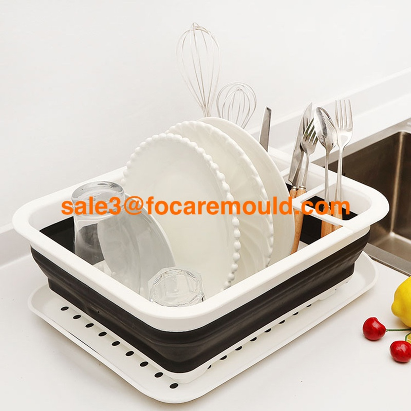 High quality Two-color foldable dish rack plastic injection mold Quotes,China Two-color foldable dish rack plastic injection mold Factory,Two-color foldable dish rack plastic injection mold Purchasing