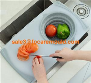 Multiple function plastic cutting board
