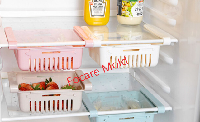 High quality Slide fridge storage rack plastic injection mold Quotes,China Slide fridge storage rack plastic injection mold Factory,Slide fridge storage rack plastic injection mold Purchasing