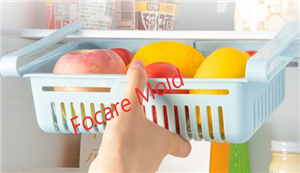 Slide fridge storage rack plastic injection mold