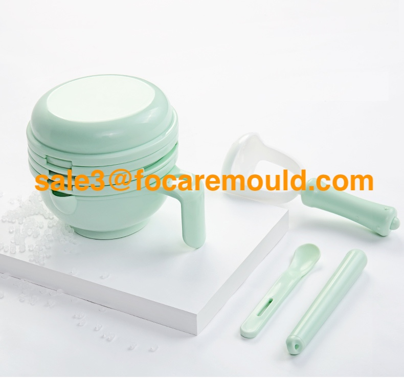 Baby food maker set plastic injection mold