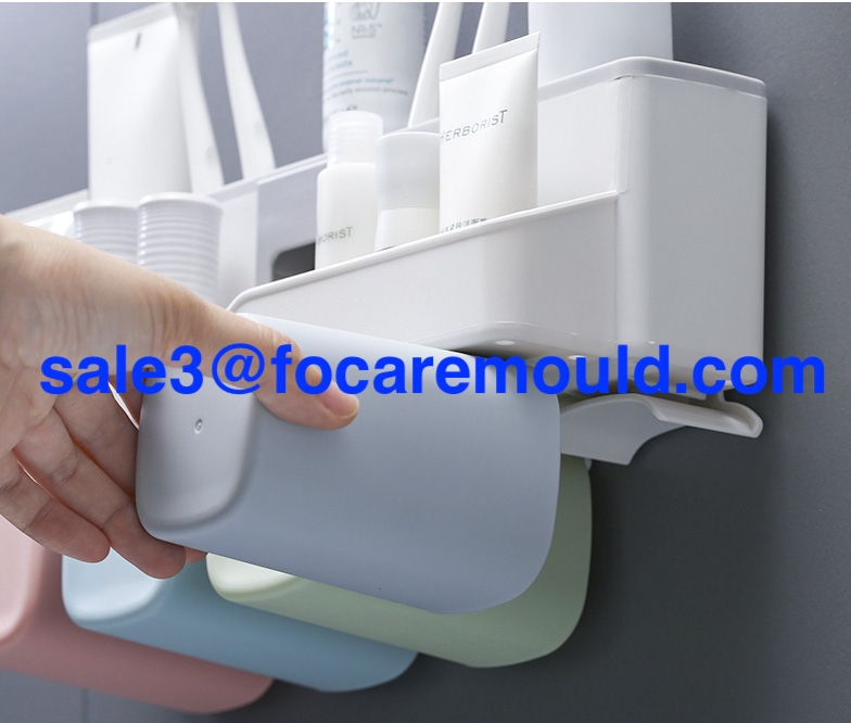 High quality Wall mounted toothbrush holder plastic injection mold Quotes,China Wall mounted toothbrush holder plastic injection mold Factory,Wall mounted toothbrush holder plastic injection mold Purchasing