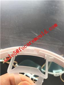 Plastic Transparent Sanitary Mask Mould