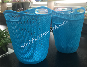Plastic Weaving Rattan Baskets Injection Mould