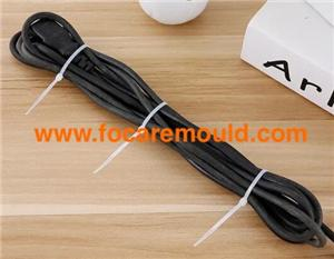 Nylon cable ties plastic injection mold