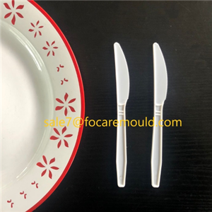 Disposable knife plastic injection mould