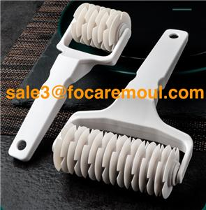 Pastry lattice roller cutter plastic injection mold