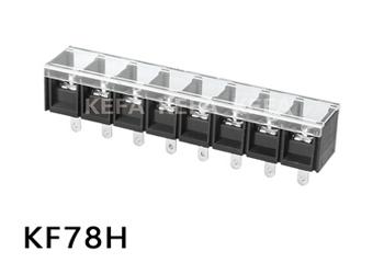 Barrier type terminal block