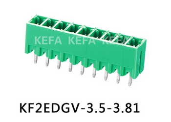 Pluggable terminal block connector