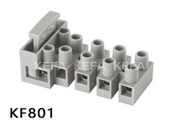 Strip connector terminal block