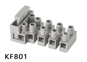 Strip connector terminal block