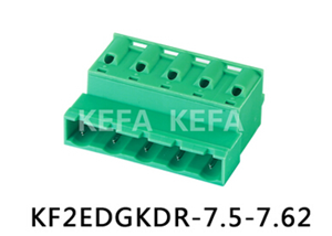Plug in terminal block connector