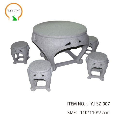 Artificial Granite Garden Table And Chair Manufacturers, Artificial Granite Garden Table And Chair Factory, Supply Artificial Granite Garden Table And Chair