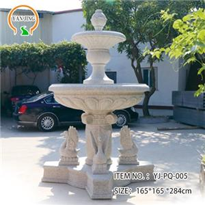 Artificial Granite Outdoor Water Fountains