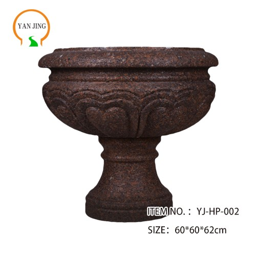Artificial Granite Garden Flowerpot