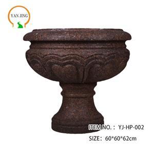 Artificial Granite Garden Flowerpot