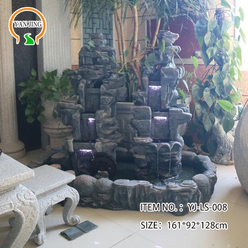 Artificial Granite Garden Rockery Water