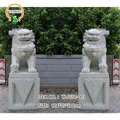 Artificial Granite Decorative Lion