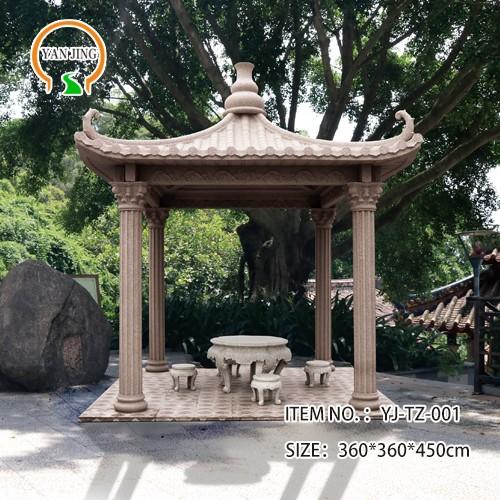 Artificial Garden Decorative Granite Gazebo Manufacturers, Artificial Garden Decorative Granite Gazebo Factory, Supply Artificial Garden Decorative Granite Gazebo
