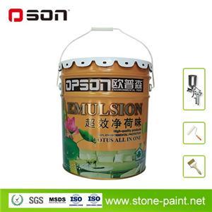 Efficient Odorless Interior Wall Paint