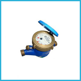 Liquid Sealed Water Meter Plastic Body