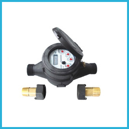 Liquid Sealed Water Meters Plastic Body