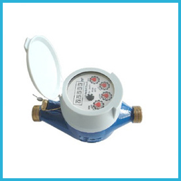 Multi-jet Dry Type Water Meter Screw Connection