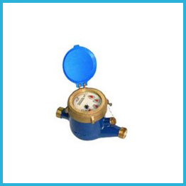 Mulit-Jet Dry Type Water Meters Plastic Body
