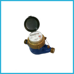 Multi Jet Dry Type Water Meters Brass Body