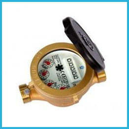 Single Jet Wet Type Water Meter MID