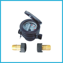 Single Jet Liquid Sealed Plastic Water meter