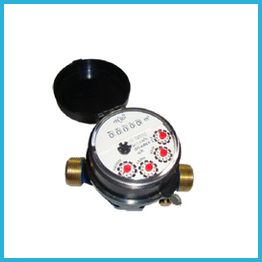 Single-jet Super Dry Cold 5rollers brass Water Meter