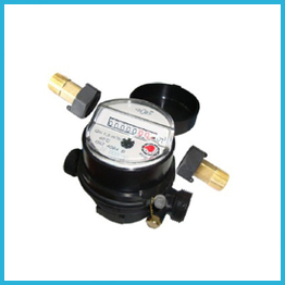 Single-jet Super Dry Cold Water Meter plastic incline