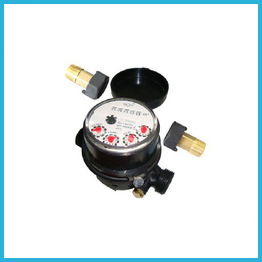 Single-jet Super Dry Cold 5 rollers plastic Water Meter