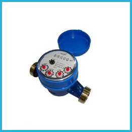 5 Rollers Single-jet Super Dry Cold Brass Water Meter