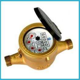 Volumetric water meter