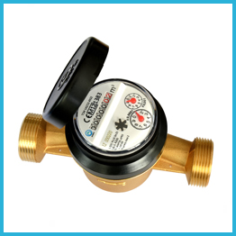 Single Jet Type AWWA Standard Water Meter