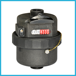 Plastic Rotary Piston Water Meter