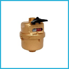 Rotary Piston Brass Water Meter