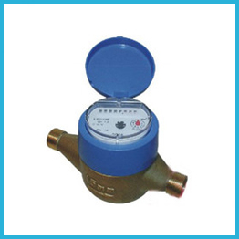 Volumetric Rotary Piston Brass Water Meter