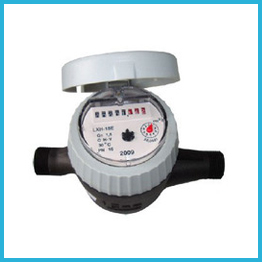 Volumetric Rotary Piston Water Meter Plastic