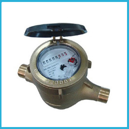 Volumetric Rotary Piston Water Meter Brass