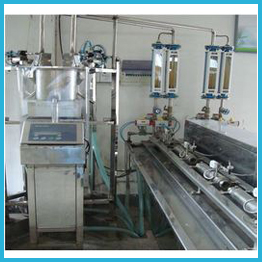 Automatic Test Bench For Bulk Meters