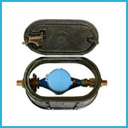 Cast iron water meter box, cast iron water meter box wholesale, promotional price